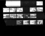 Set of negatives by Clinton Wright including Mrs. McGlothen, Madison Awards Day, Harold Freeman, Rae-Carrie Williams' wedding, and field day at Matt Kelly, 1965