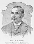 Hon. M.W. Gibbs, Consul to Tamatave, Madagascar