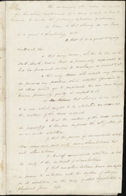 Declaration of sentiment for immediate emancipation] [manuscript