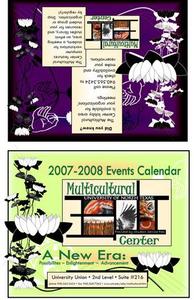 2007-2008 UNT Multicultural Center events calendar