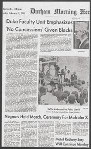 Durham Newspapers, Feb. 9, 1969-April 2, 1969