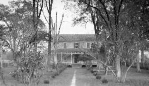 Old House of N.C. Newbold. Birthplace of N.C. Newbold near Elizabeth City
