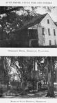Overseer's house, Hermitage Plantation. ; Ruins of slave hospital, Hermitage