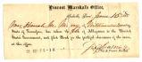 Oath of Allegiance for Mrs. Hannah M. Morey