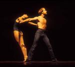 Jazz dancers perform at the California State University, Northridge (CSUN) Campus Theater, 1981