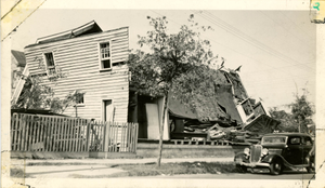 Wreckage of Calvary Baptist Church After the 1938 Tornado