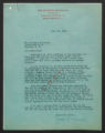 Correspondence regarding the Board of Conservation and Development, 1940