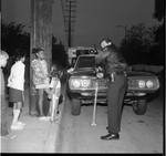 Compton Police Officer, Los Angeles, 1971