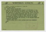 Telegram: Martin Luther King Jr. to Gov. Terry Sanford, November 1, 1962