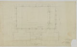 Thumbnail for Arlington Playground Building, Foundation and Basement Floor Plan