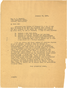 Letter from W. E. B. Du Bois to C. F. Maxwell