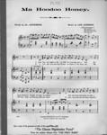Ma hoodoo honey / words by Al. Anderson ; music by Lee Johnson