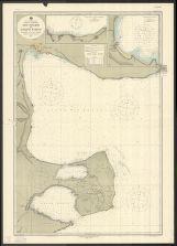 Süd-Atlantischer Ozean, Küste von Argentinien, Rio Negro bis Golfo Nuevo / herausgegeben von der Marineleitung
