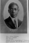 Tamalpais High School's first African American graduate, 1911