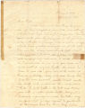 Letter from William Rufus King to William T. King.