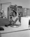KTYM Gospel radio disc jockey, Los Angeles, 1960