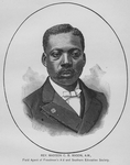 Rev. Madison C. B. Mason, A.M., Field Agent of Freedmen's A d and Southern Education Society