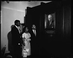 Sidney Poitier at Industrial Bank [of Washington], May 1964 [cellulose acetate photonegative]