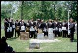 Prince Hall Masons at graveside ceremony