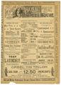 """The Bottom of the Sea"" theater program, Bijou Opera House, Minneapolis, Minnesota"