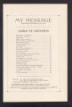 My Message, Official Organ of the Diocese of St. Cloud (St. Cloud, Minnesota), Volume 1, Number 4