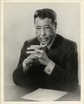 [Duke Ellington portrait : black-and-white photoprint], 1969