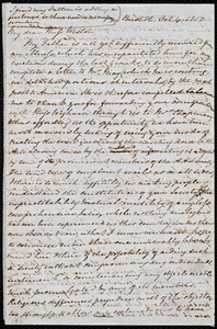 Letter from Mary Anne Estlin, Bristol, [England], to Anne Warren Weston, Oct. 4, 1850