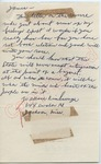 Wallace Kimbrough to James [Meredith] (Undated)