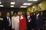 Thumbnail for Honorees James P. Comer and Mel Carter with Others at African American Living Legends Program