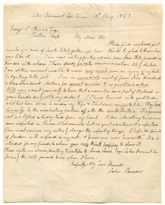 Letter from John Brown to George L. Stearns