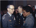 Clara Adams-Ender and General Max Thurman, 1990