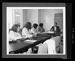 Photograph of Exhibits Training Program for Fisk University Students