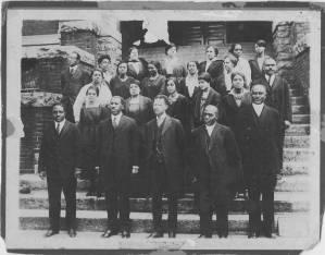 Photograph of the Morris Brown College Faculty, Atlanta, Georgia, circa 1920-1925