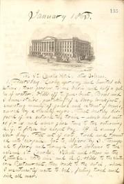 Thomas Butler Gunn Diaries: Volume 21, page 149, January 1, 1863
