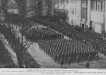 Fifth Avenue, New York, cheers Negro Veterans; The 369th Colored Infantry acclaimed by thousands upon their return from France