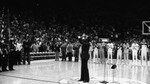 Marvin Gaye Sings National Anthem at NBA All-Star Game; Los Angeles, 1983