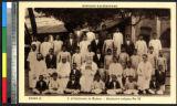 Seminarians and their teachers, Chennai, India, ca.1920-1940