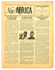 New Africa volume 5, number 4