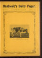 Heatwole's Dairy Paper, Volume II, Number 12, February 1908