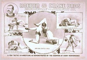 Roeber and Crane Bros Vaudeville-Athletic Co.