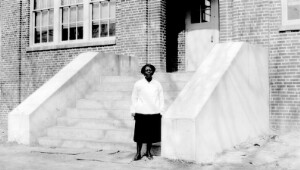 Virginia Randolph at Dedication of New School Building