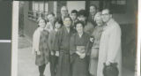 The Bixlers, Moores, and Iwakamis, Mito, Japan, 1964