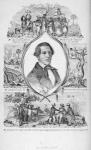 De slavenhandelaar Walker en de schryver dryven slaven naar de markt. De schryver en zyne moeder worden gevangen genomen en in slaverny teruggevoerd