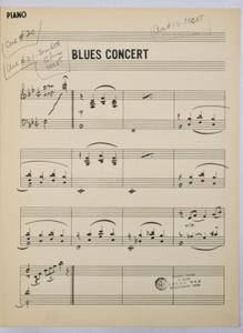 Bernstein, Leonard / TELEVISION - OMNIBUS JAZZ SHOW 1955 (ARR. Bernstein), Keyboard PART used by Bernstein, Leonard.