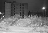 Abandoned building, River Avenue, Bronx