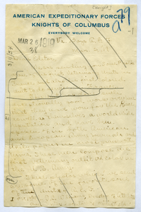 Letter from F. C. Knight to Editor of the Crisis