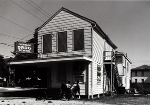 "Ferguson Drug Store (now closed), 1218 35th, Galveston, Texas, from ""The Corner Stores of Galveston,"" Galveston County Cultural Arts Council"
