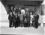 Gilbert Lindsay and civil rights leaders, Los Angeles, 1964