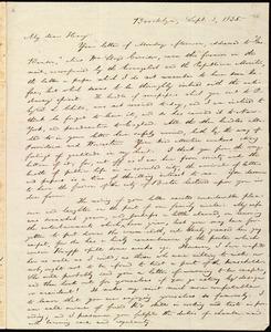 Letter from William Lloyd Garrison, Brooklyn, [Conn.], to Henry Egbert Benson, Sept. 3, 1835