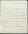 David Brydie Mitchell letter to Maj. Gen. Edmund P. Gaines, 1818